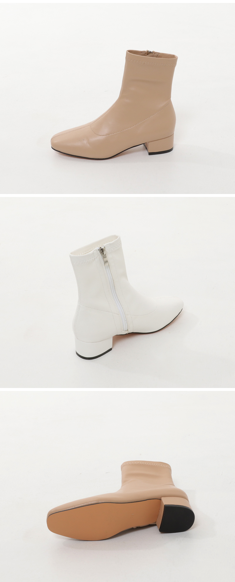 Most Middle Heel Ankle Boots
