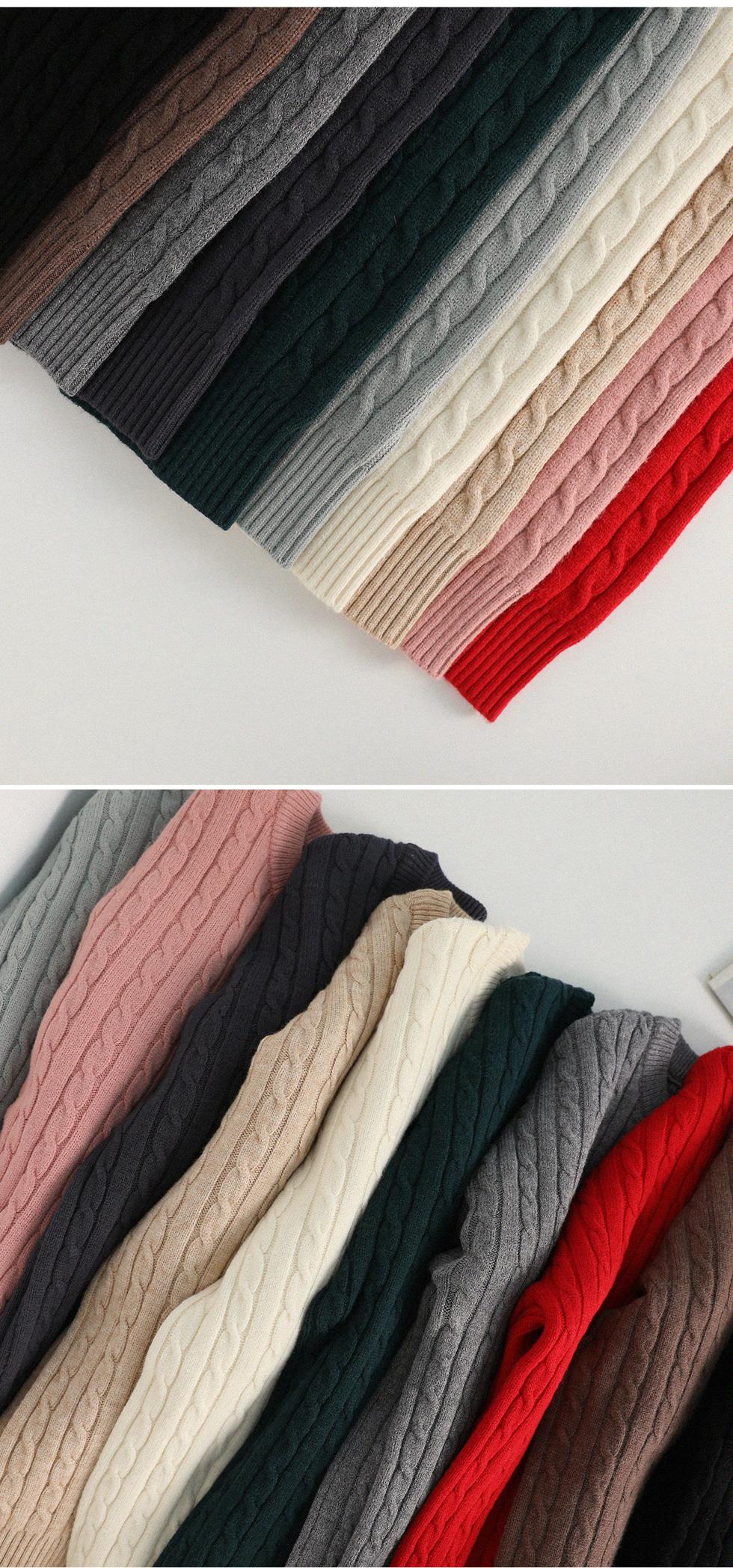 Edith Cash Twist Knit