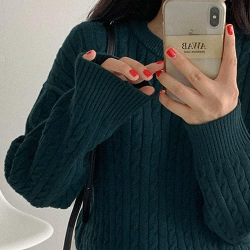 Edith Cash Twist Knit (Delayed delivery)