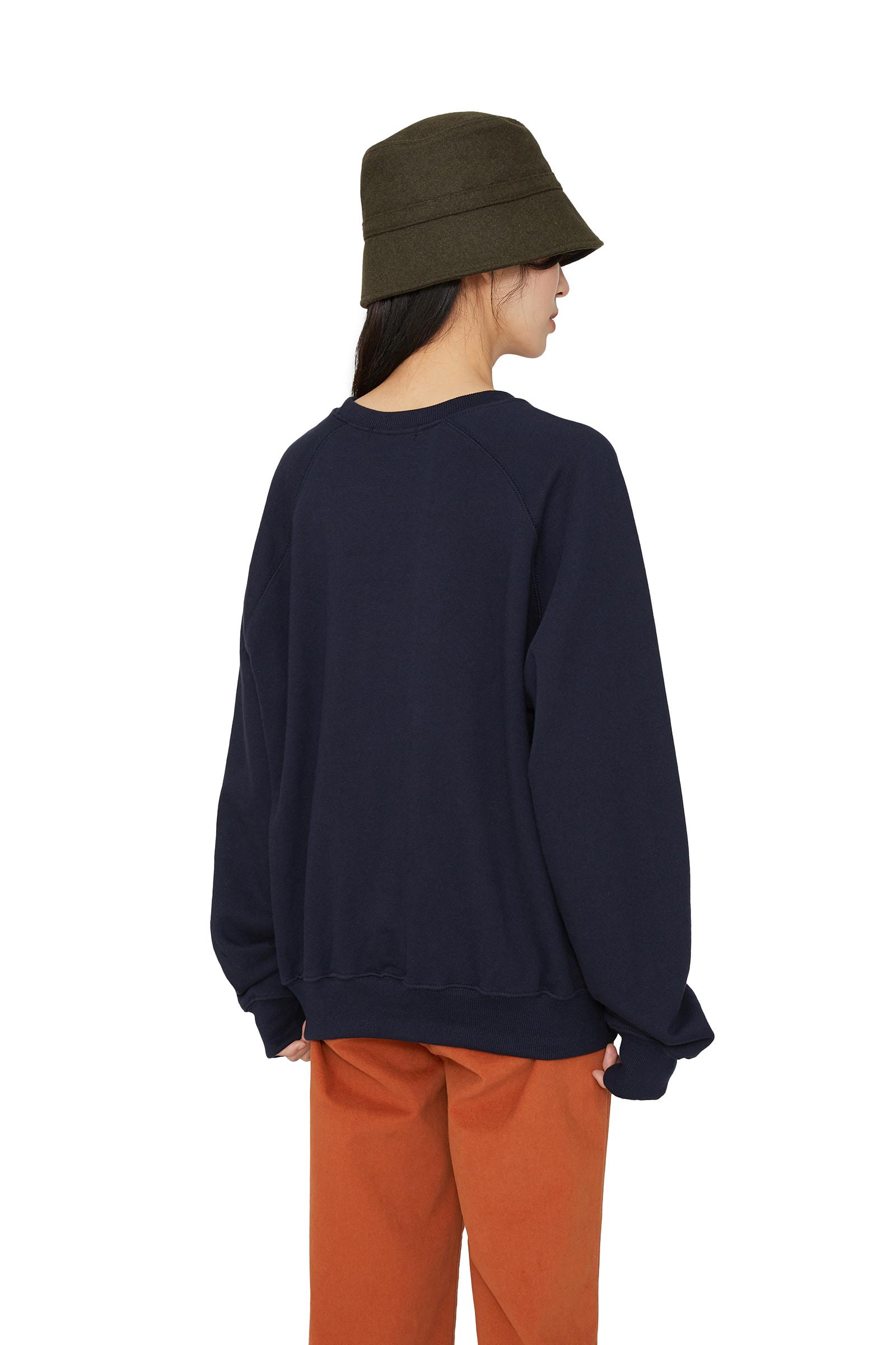 Tennis printed crew neck sweatshirt