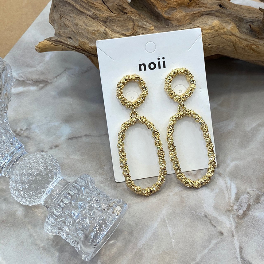 Noi Shine luxury nickel-free needle earrings
