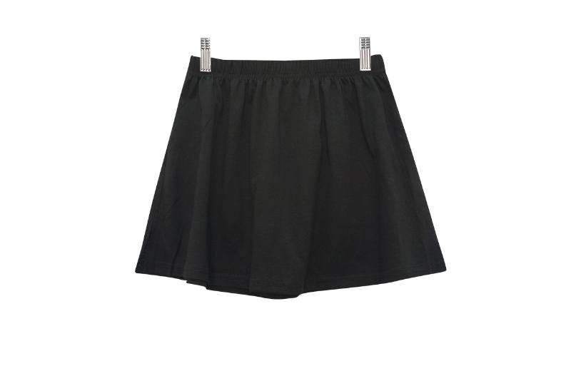 Hidden layered skirt