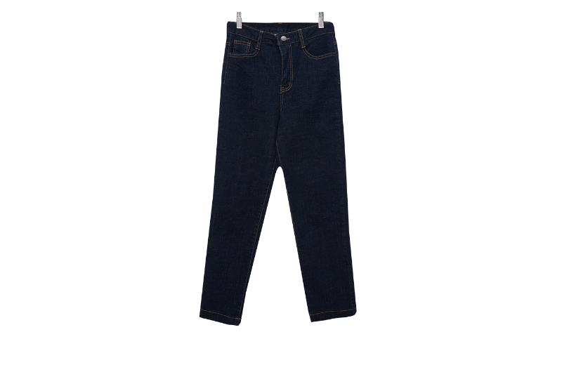 Ranyu span denim trousers