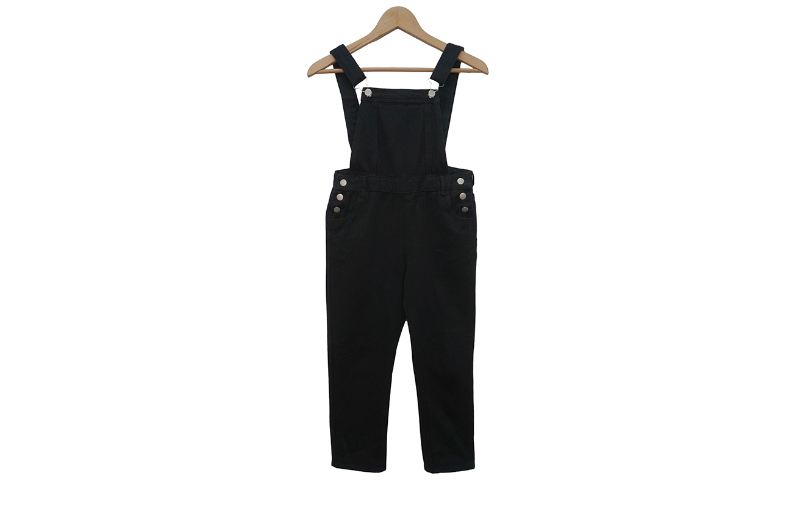 Morty cotton suspenders trousers