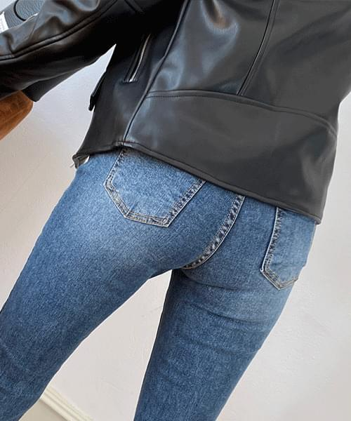 Hidden Washed Long Bootcut Jeans