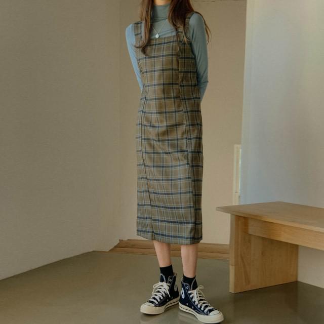Urban Sleeveless Check Dress