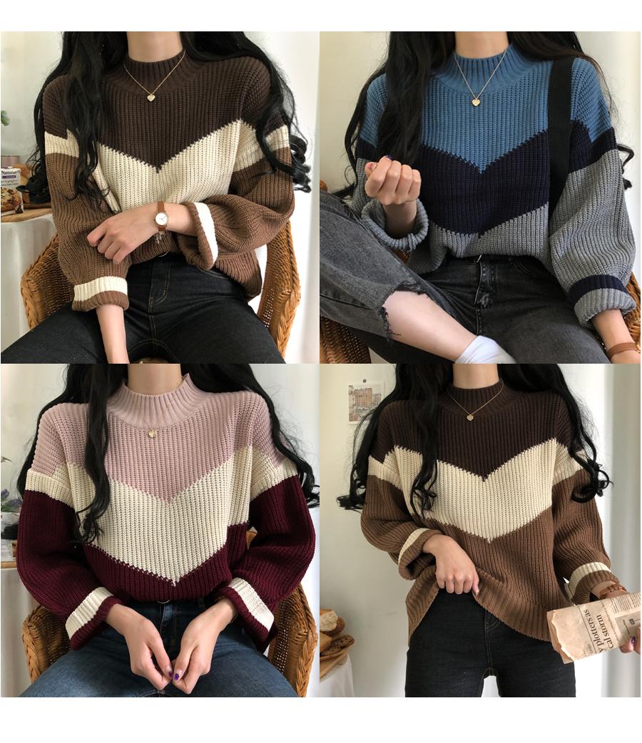 Mac V Hachi Half Neck Knit