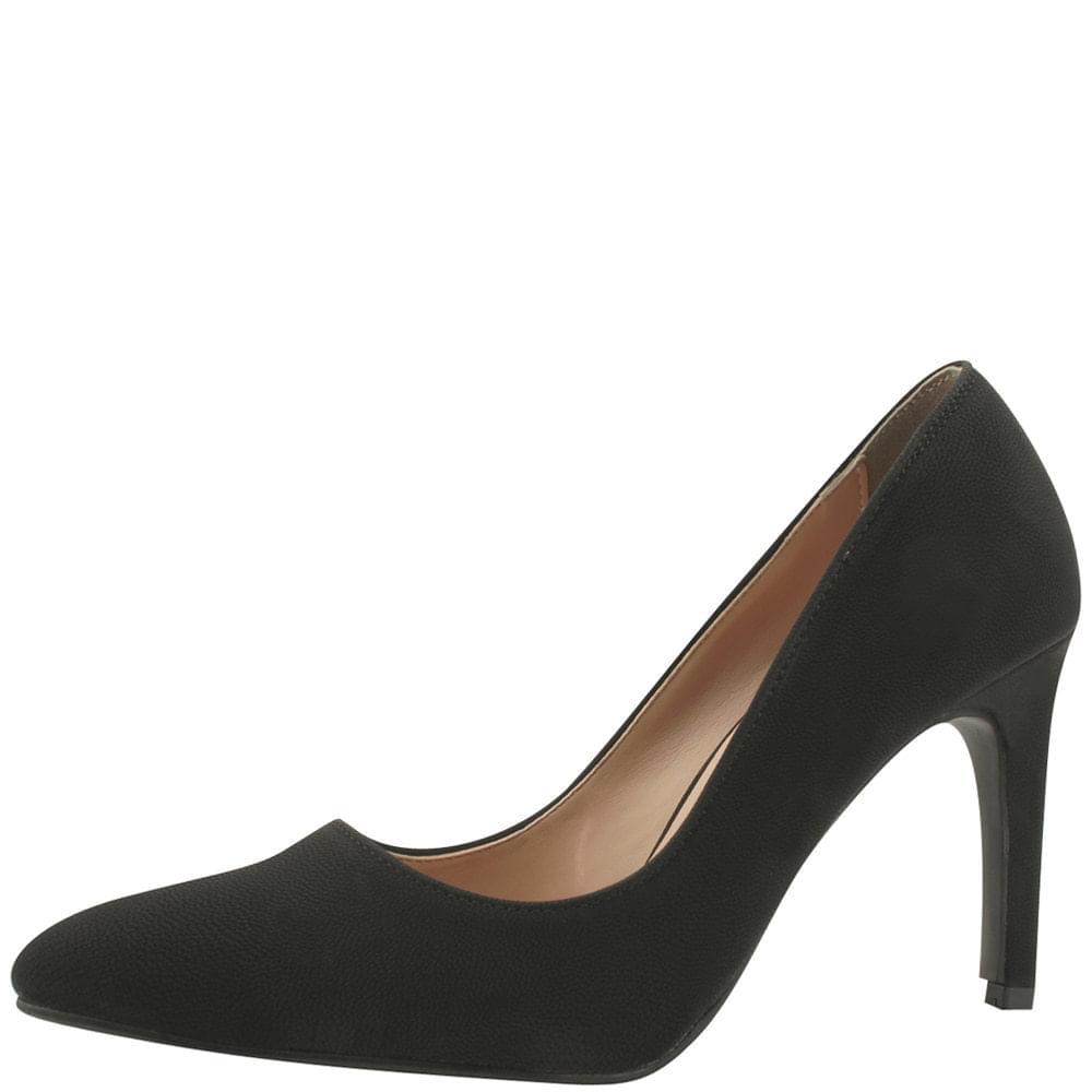 Stiletto basic high heel shoes 9cm black