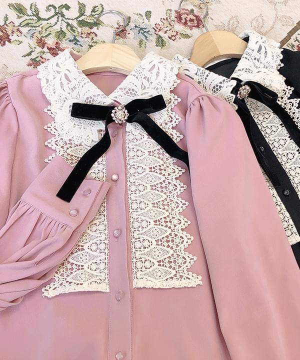 Marymi Goqual lace blouse