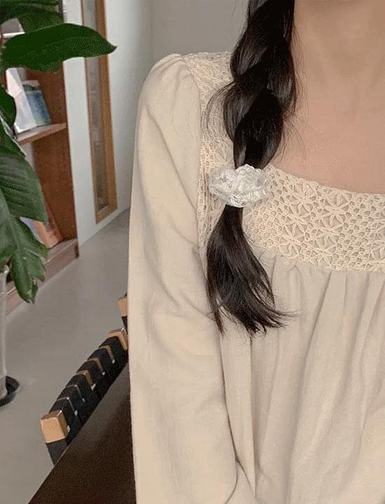 韓國空運 - Lace gouache 配飾