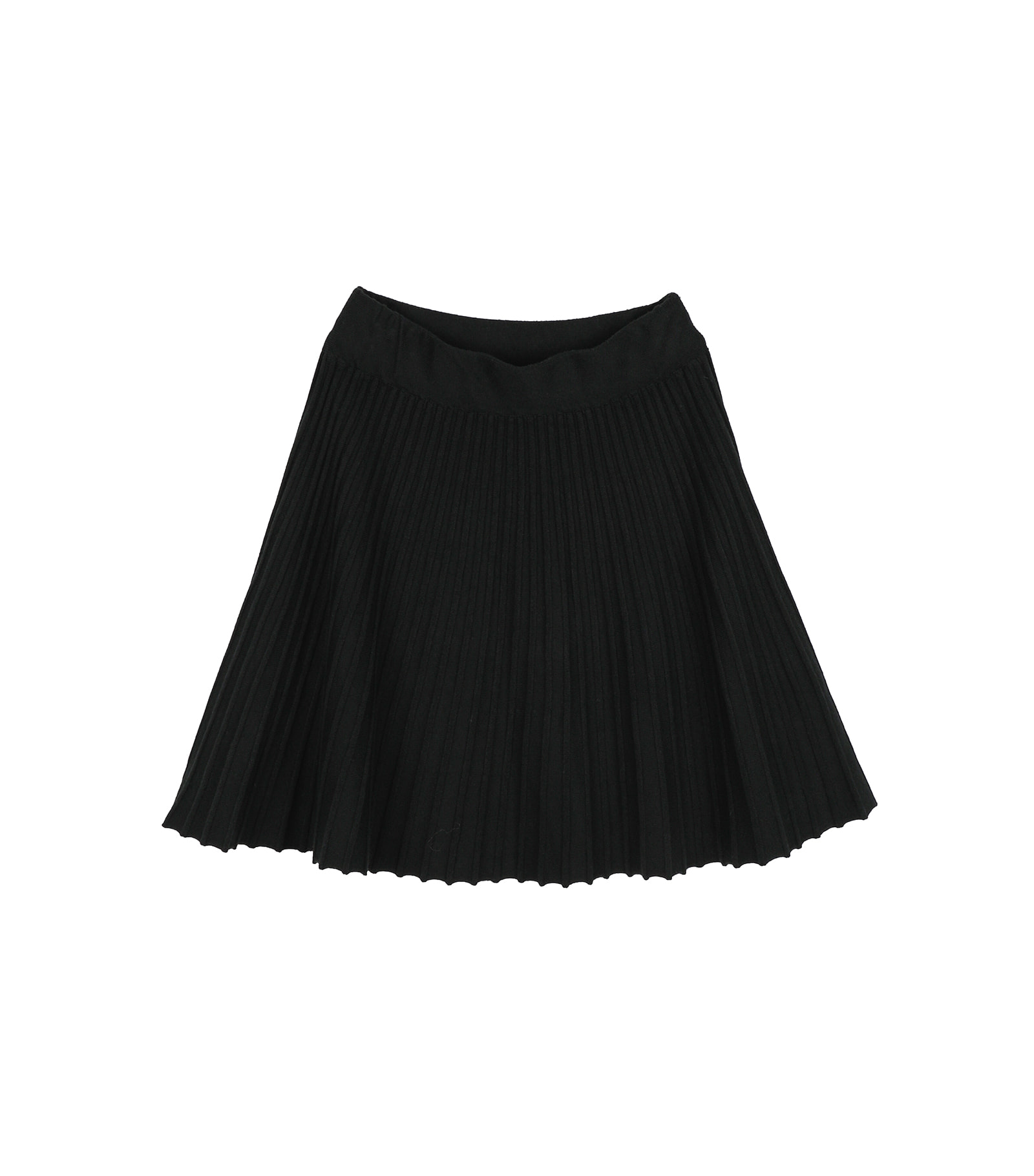 Cats pleated mini skirt
