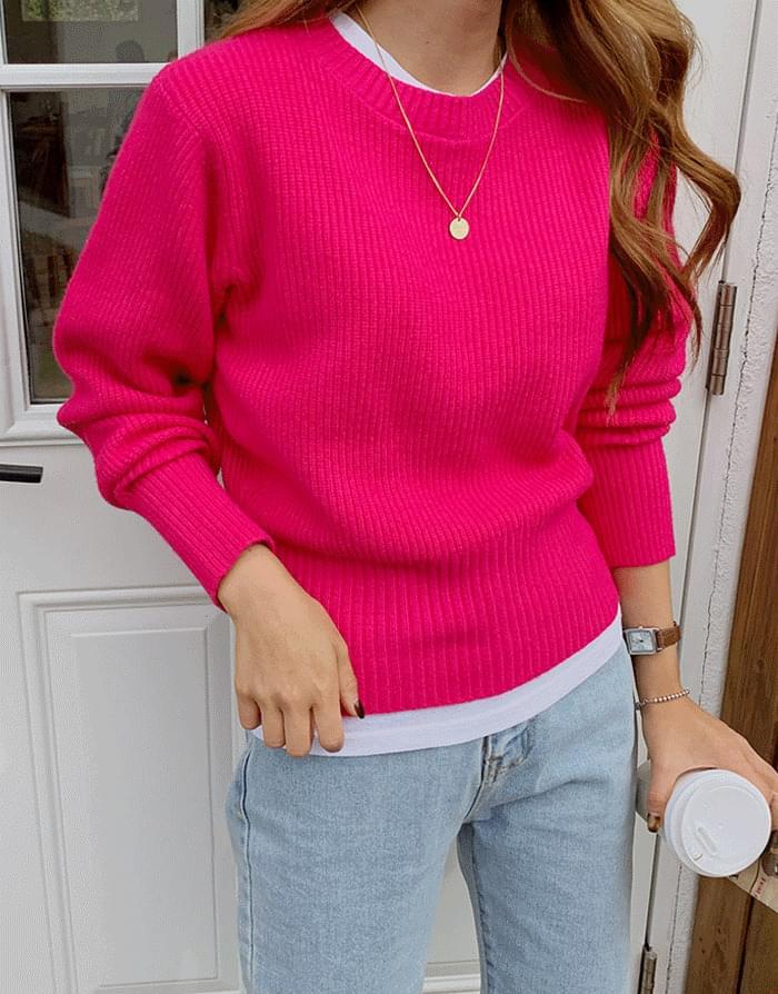 Soft Touch Oblique Knit 針織衫