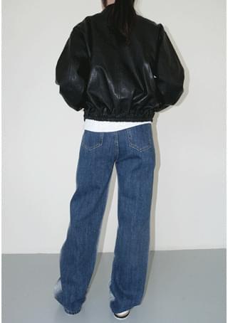 side washing denim pants