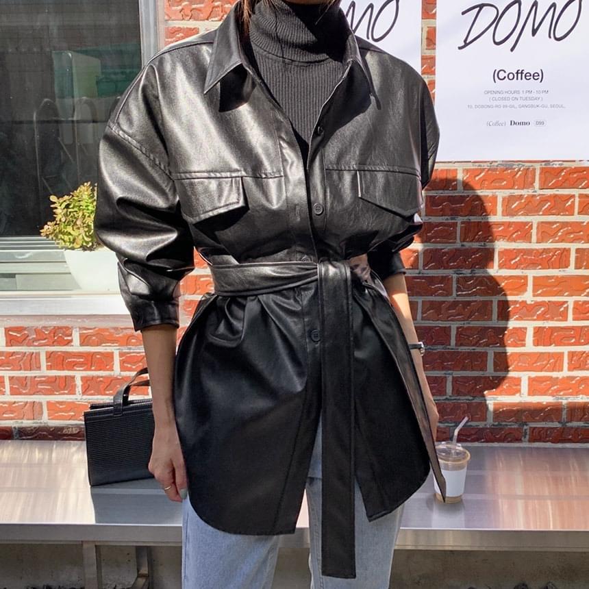 Hailey Leather Belt Southern Jacket 夾克外套