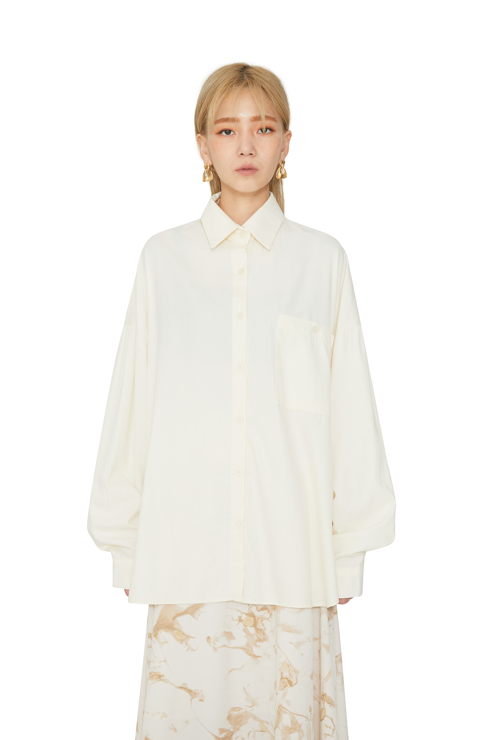 Melo Tencel Standard Shirt