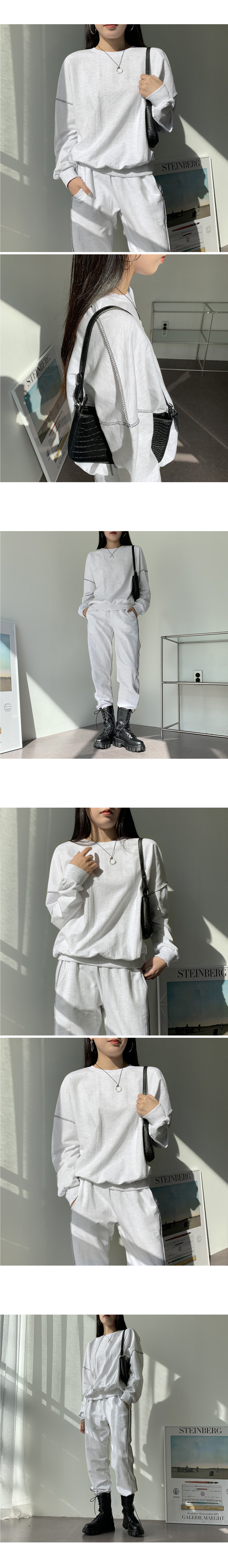 Zen Loose Fit Over Stitch Sweatshirt