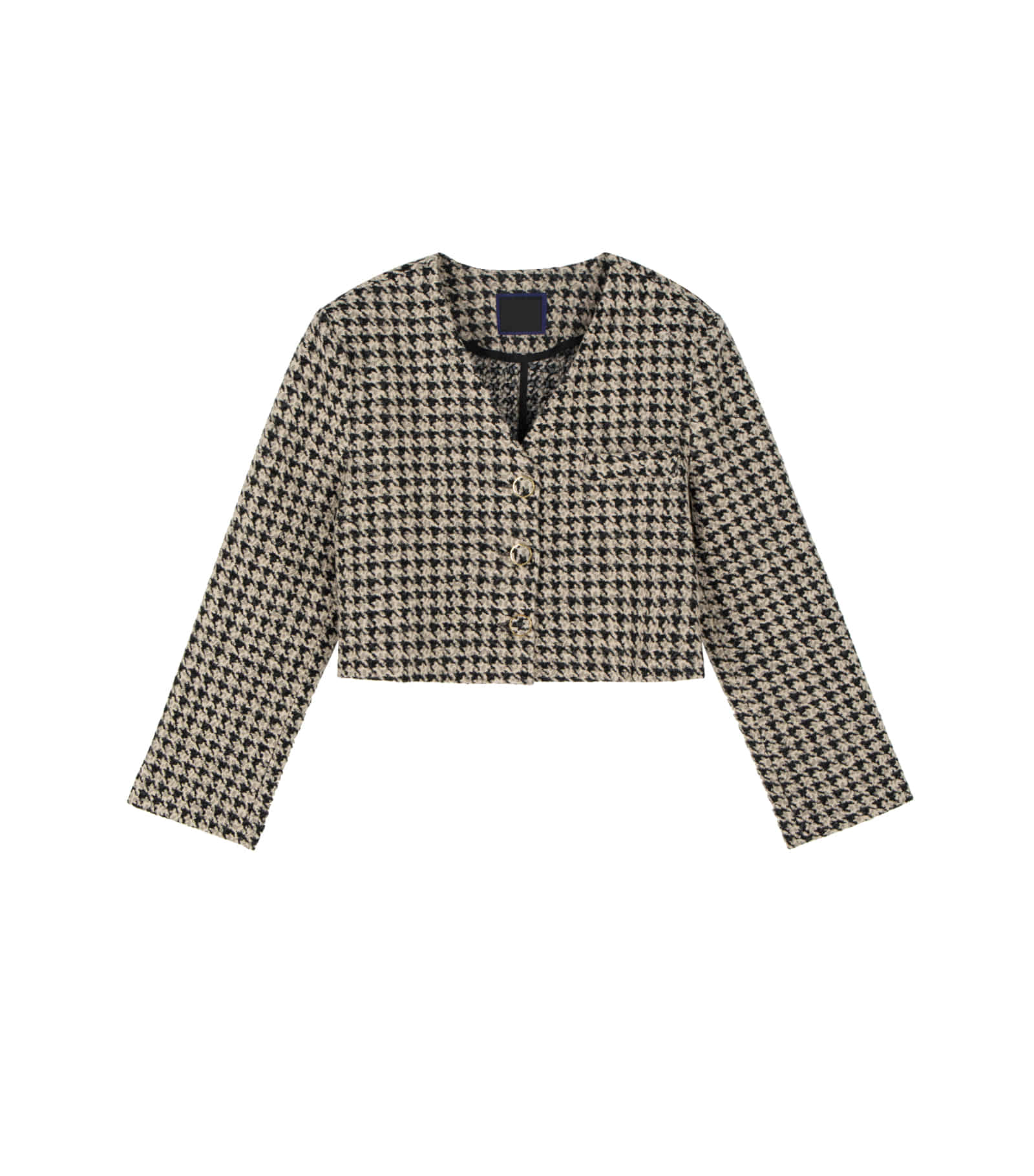 Bowdon Hound Check Short Jacket