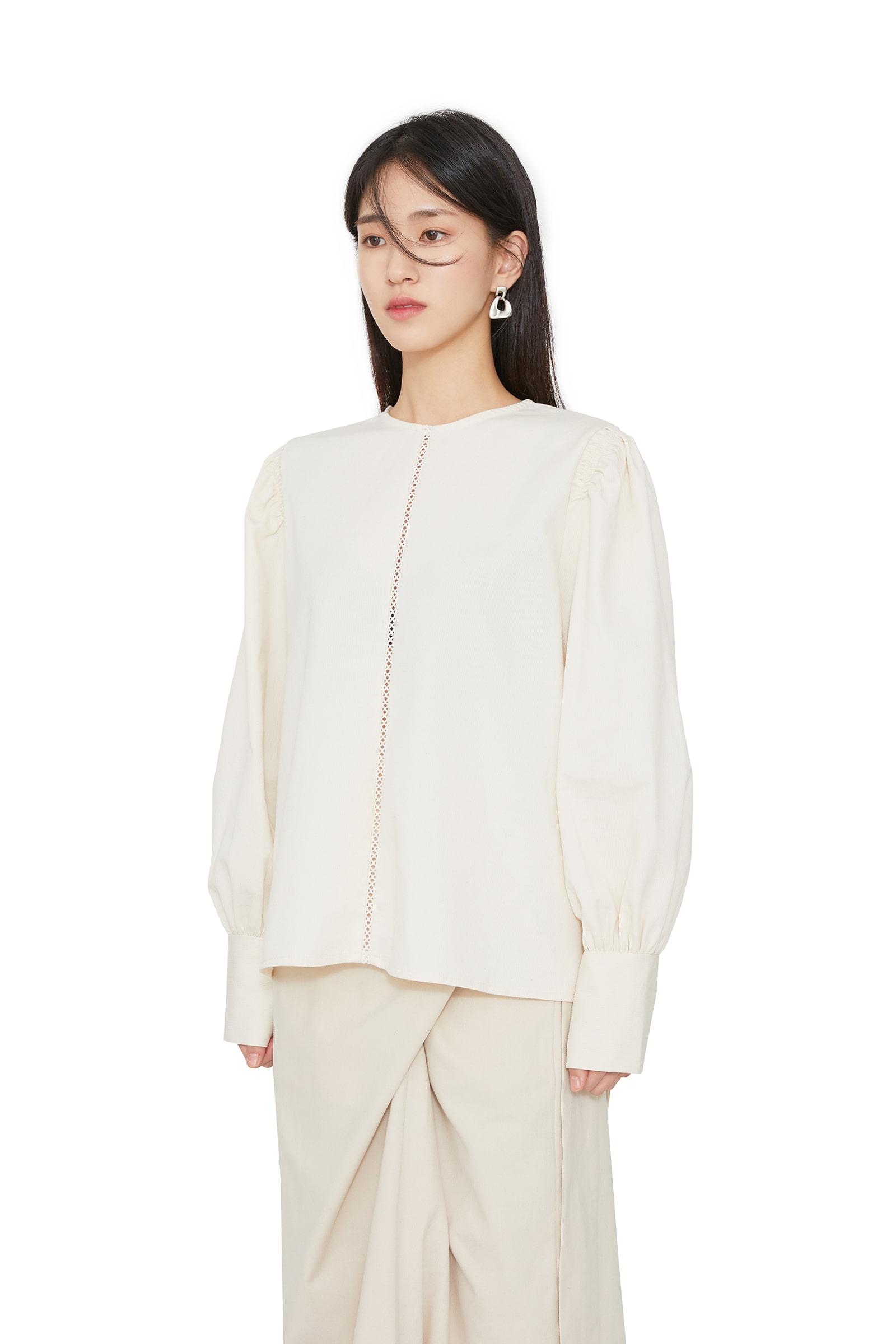Celize peach blouse