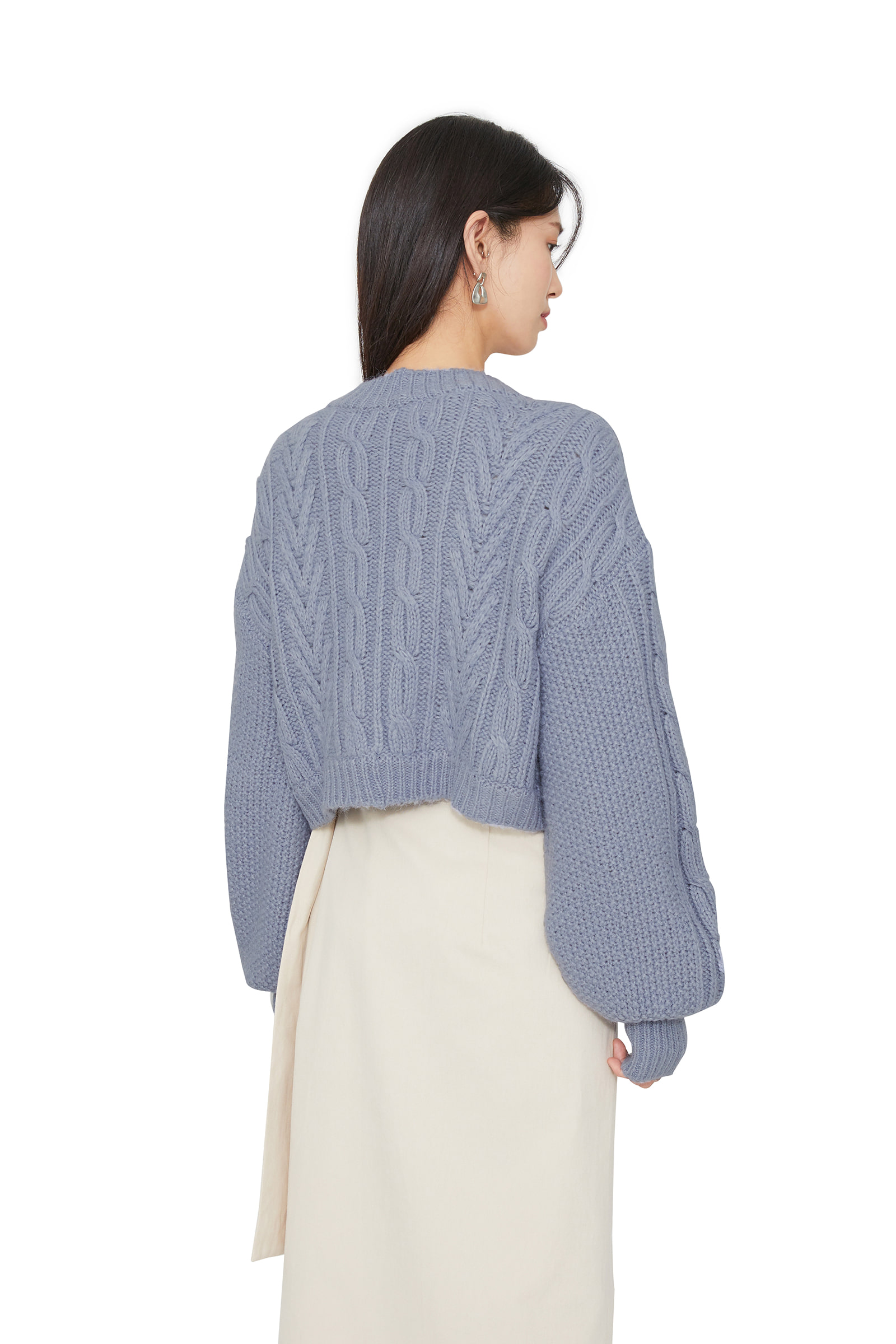 Fall-in-knit bolero