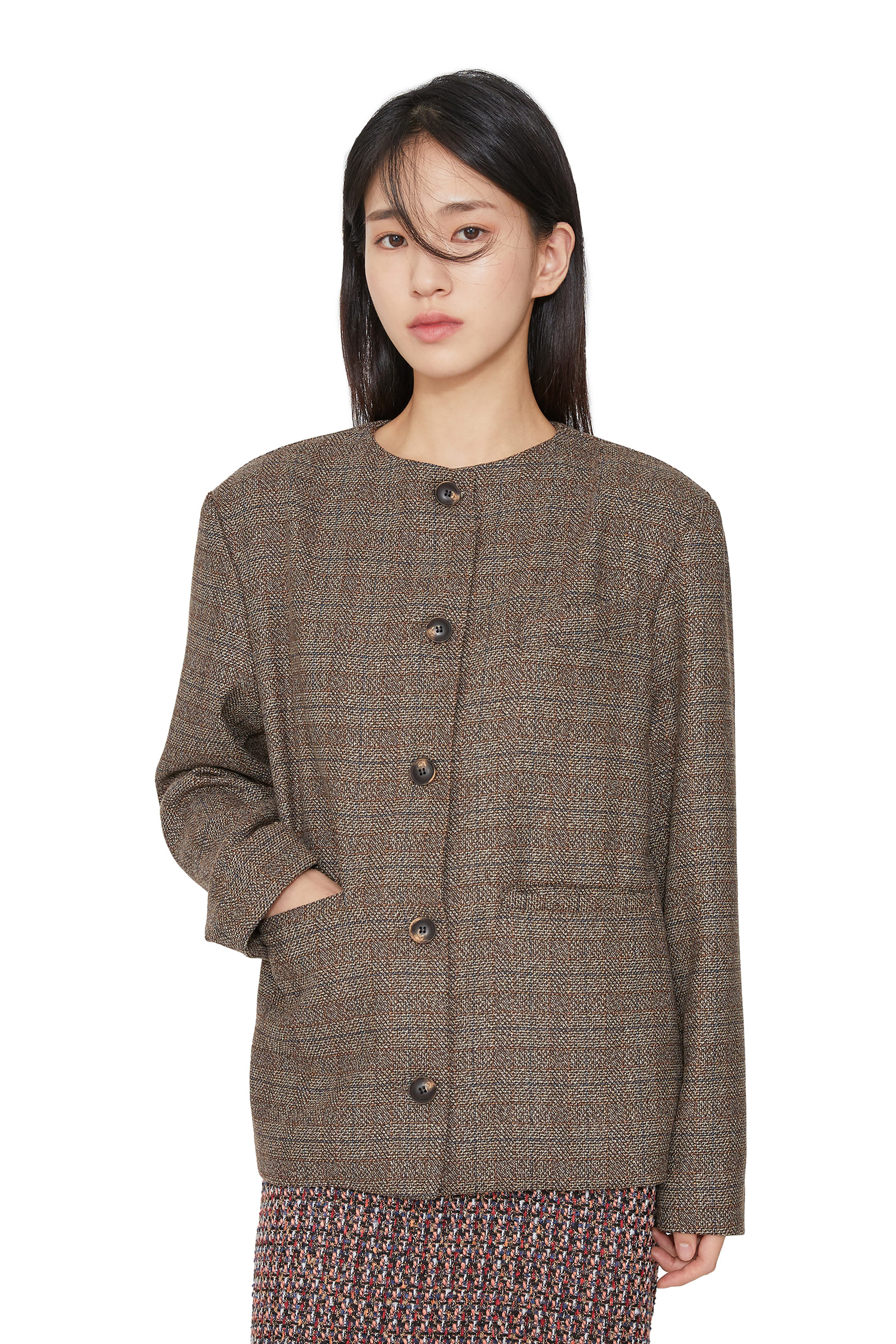 Ritz Cararis check jacket