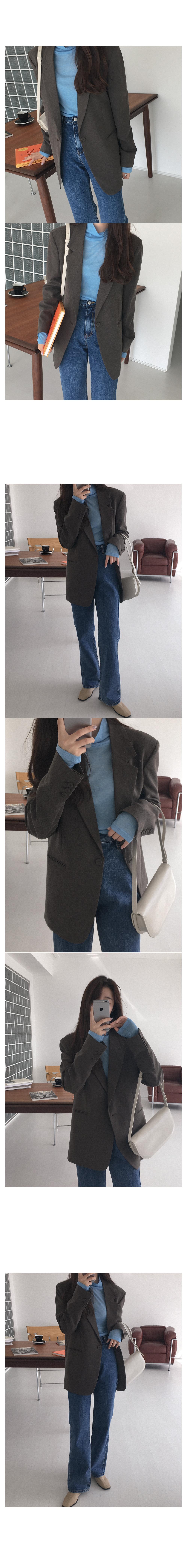 Gracie wool single jacket