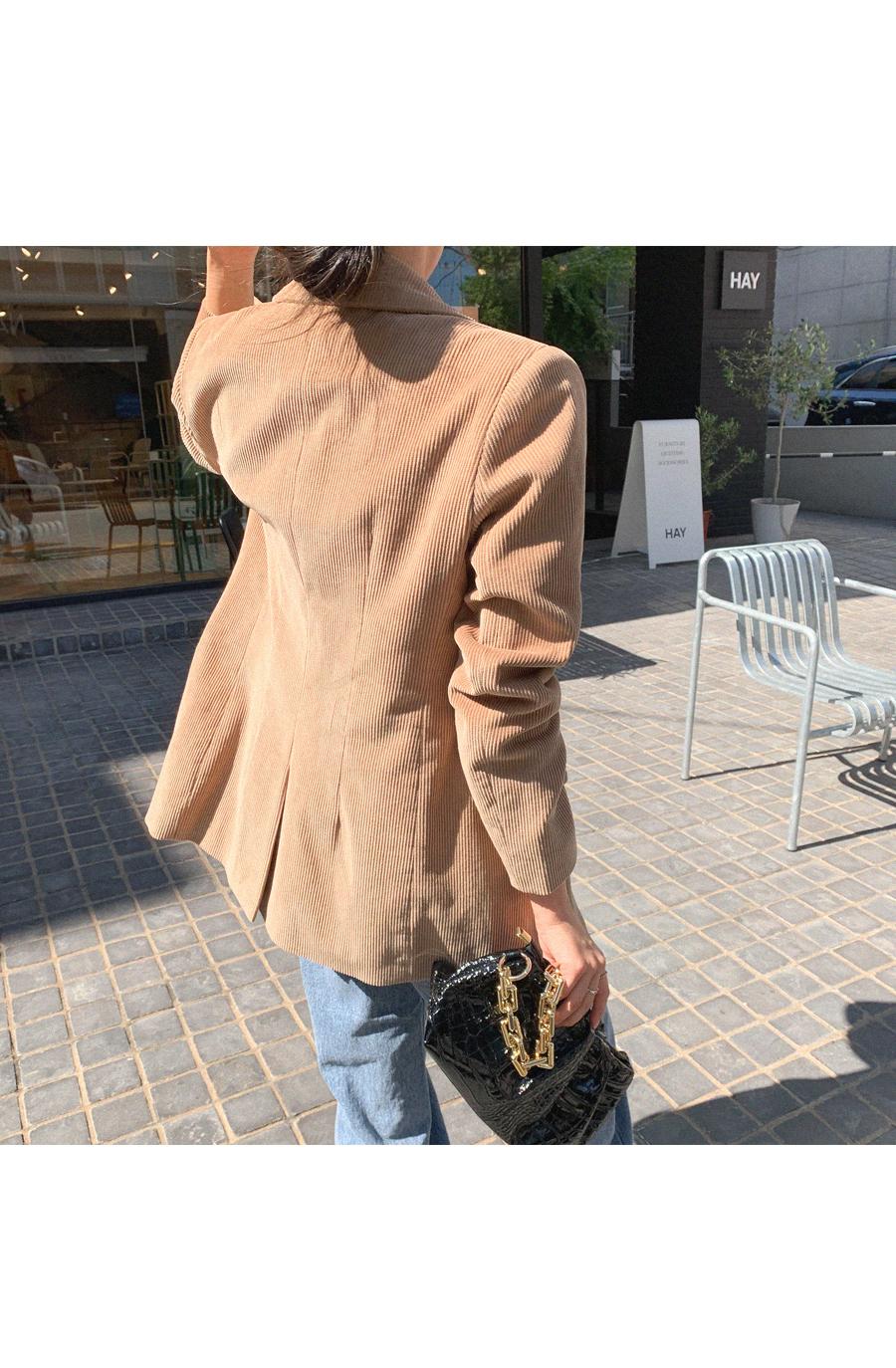Trendy Golden Pad Jacket