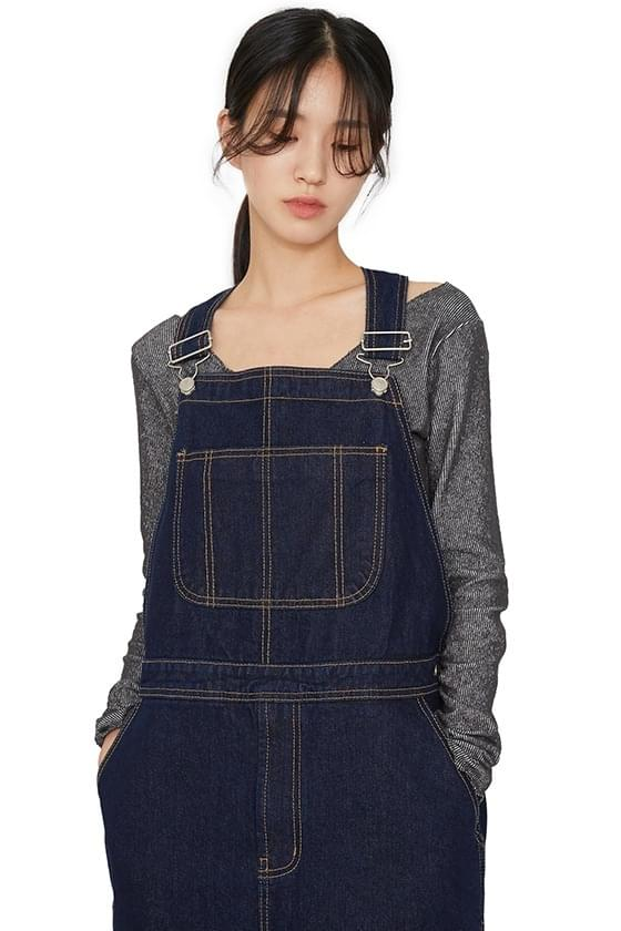 Ward dough denim jumpsuit