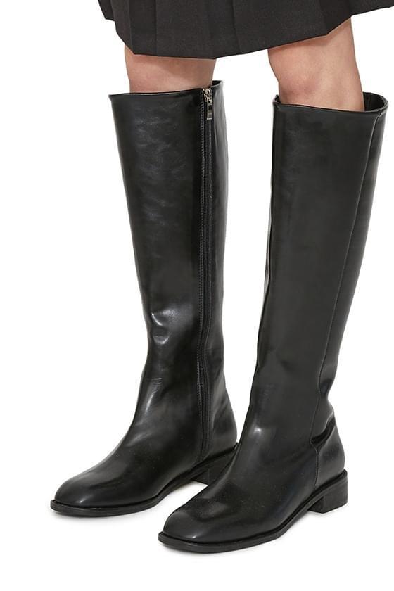 Berlin middle heel long boots 靴子