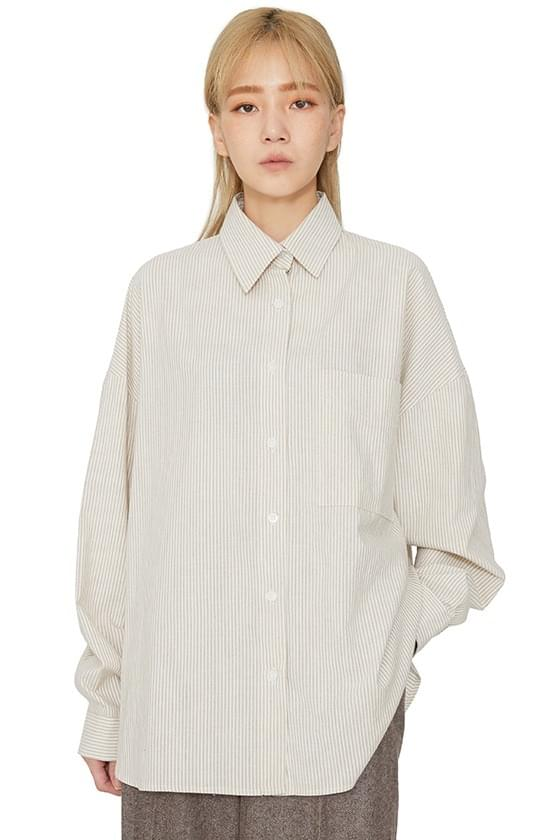 Betty striped over shirt
