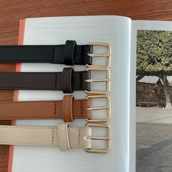 Virai leather belt