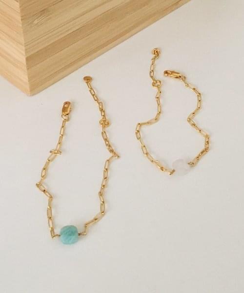 square stone bracelet 手鐲