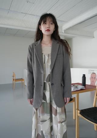 neat classic wool jacket