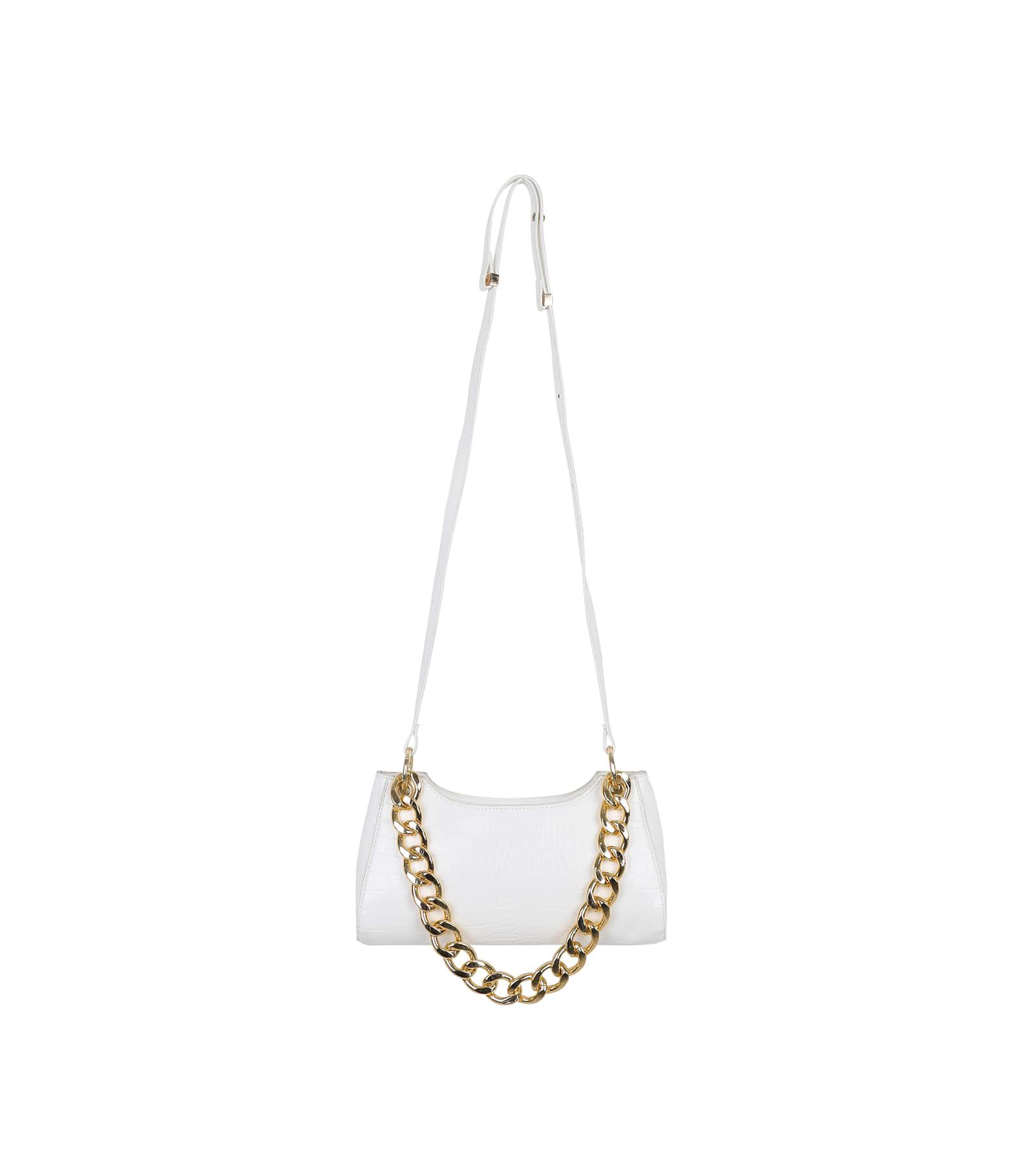 Zard animal pattern chain shoulder bag