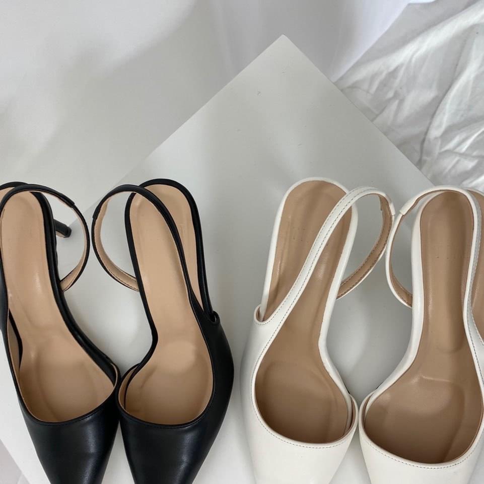 Stiletto slingback heel 跟鞋