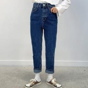 Standard straight denim trousers 牛仔褲