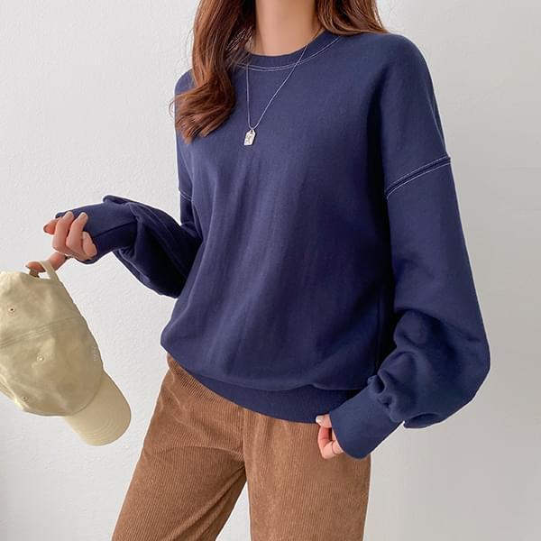 Loose Fit Color Sweatshirt #108491