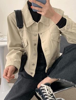 Ray Cotton Crop Jacket