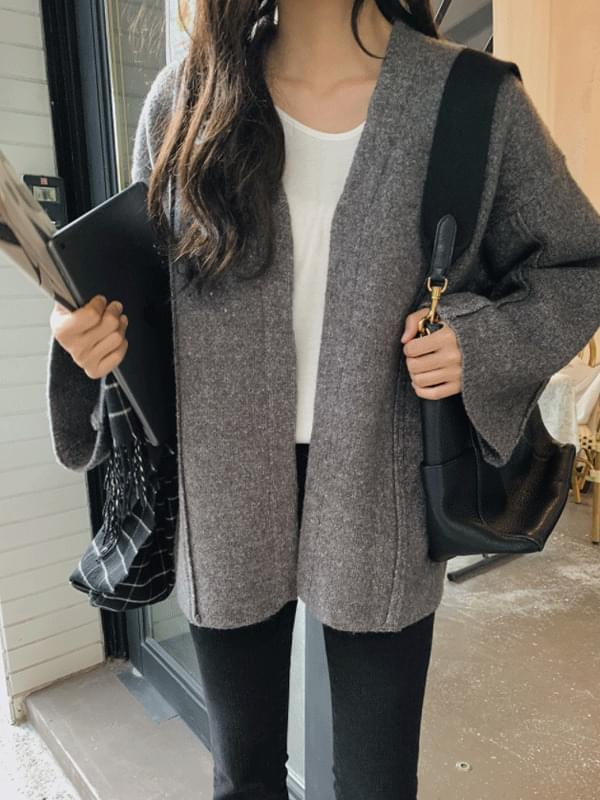 Bold Thicker Wool Cardigan