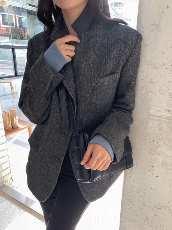 Maltese Herringbone Half Wool Jacket 夾克外套