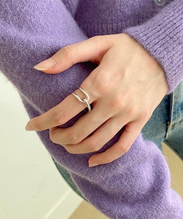 투웨이 꼬임 반지
