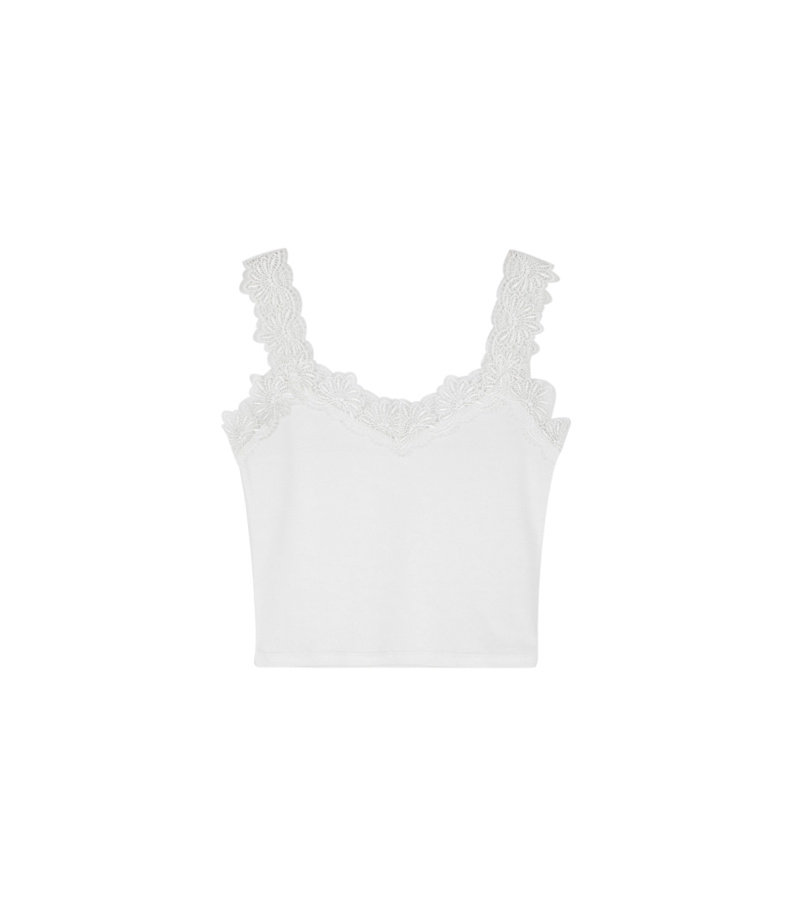 Paired sleeveless top
