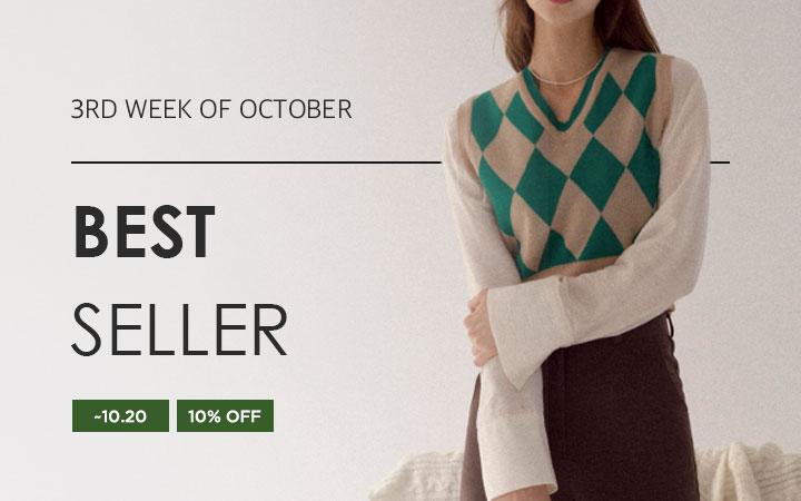 BEST SELLER - 3RD WEEK OF OCTOBER