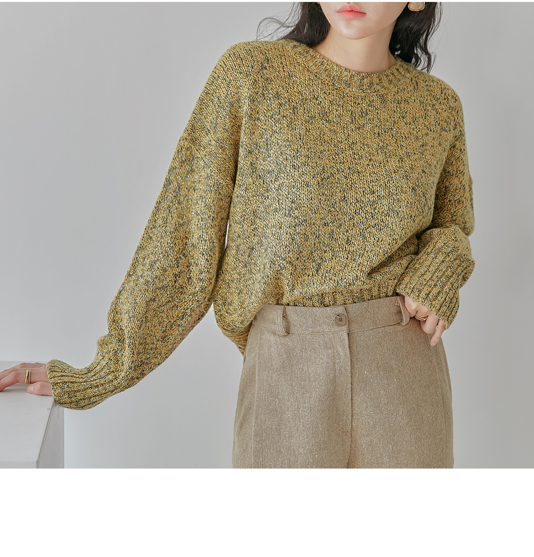 Loose Fit Knit Top