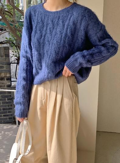 Lauren Crop knit 針織衫