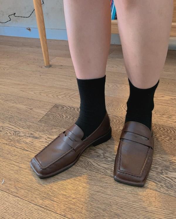 Lofill square loafers