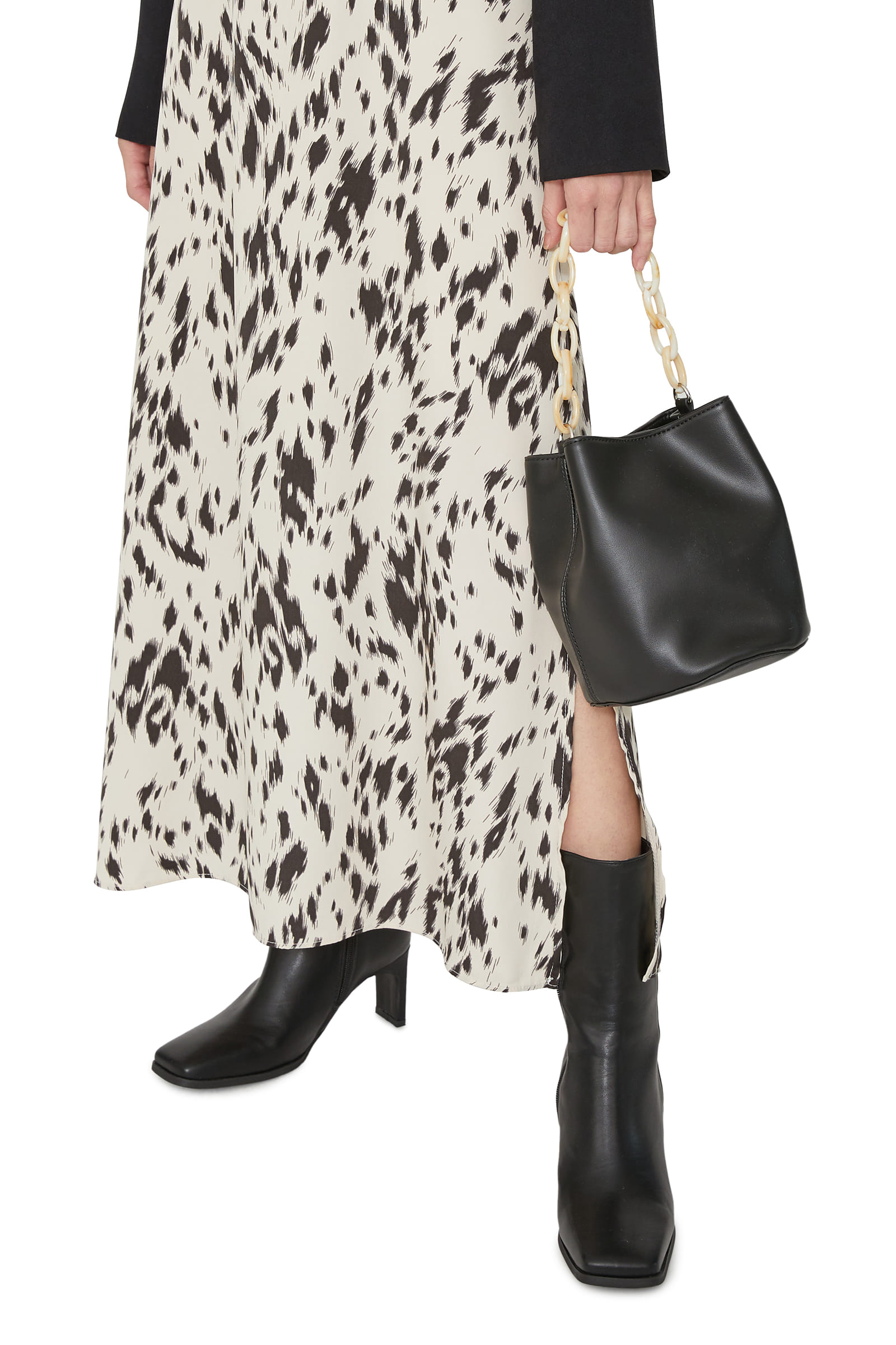 Five high heel ankle boots