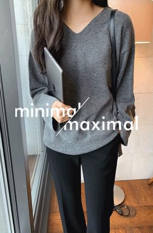 MMMM/ Cashmere Wool Loose Fit Knit 針織衫