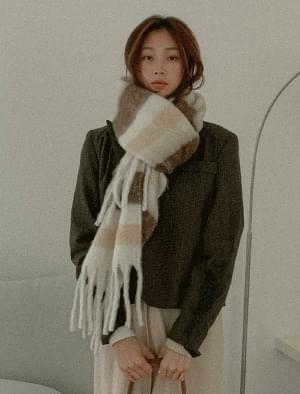 Pastel stripe scarf アクセサリー