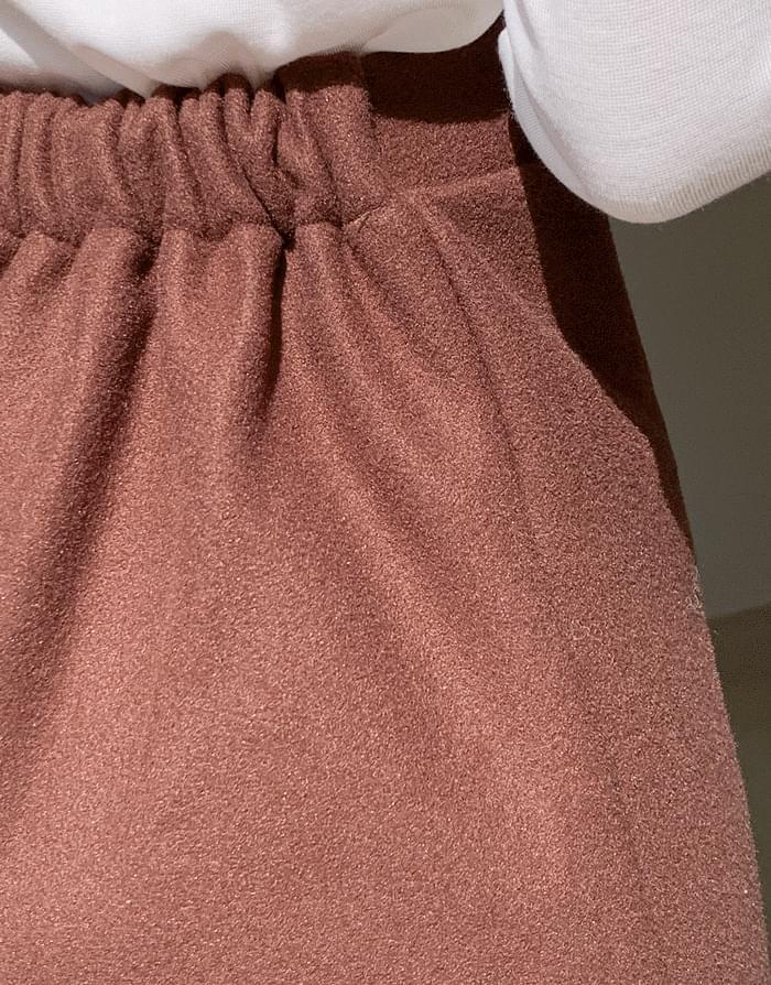Woolposong mini skirt 裙子