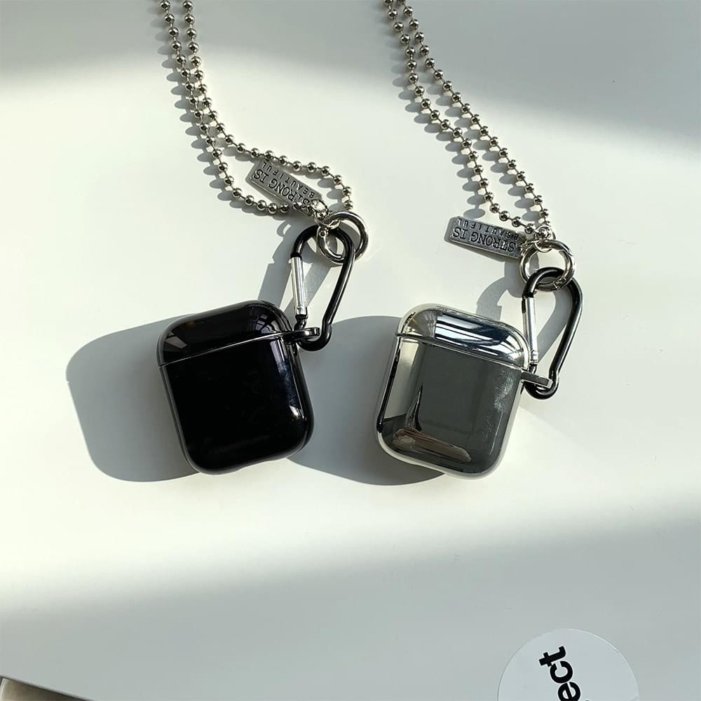 Shiny Necklace Strap AirPods Case